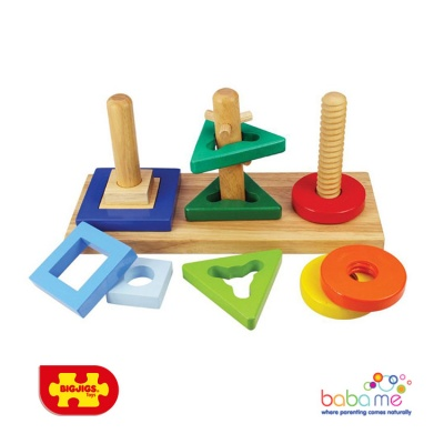 Bigjigs Twist and Turn Puzzle