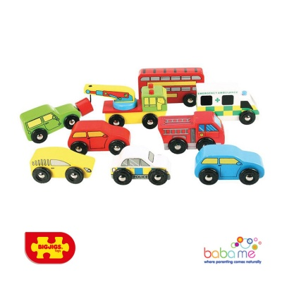 Bigjigs Vehicle Pack