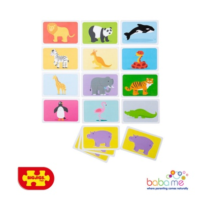 Bigjigs Wild Animals Snap