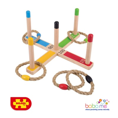 Bigjigs Wooden Quoits