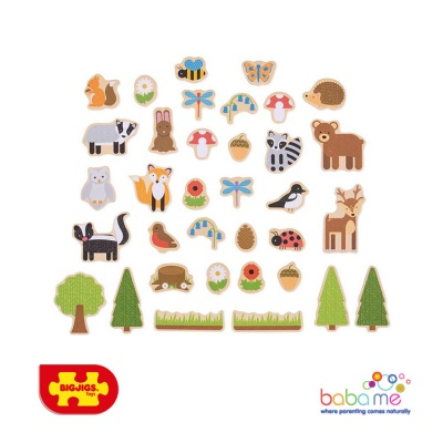 Bigjigs Woodland Magnets