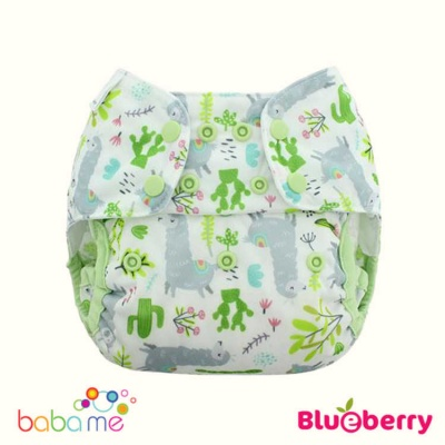 Blueberry Capri Reusable Nappy Covers