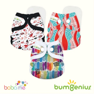 Bumgenius Littles - Newborn Nappies (Snap)