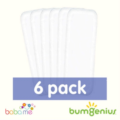 bumGenius Stay Dry Nappy Liners (6 Pack)