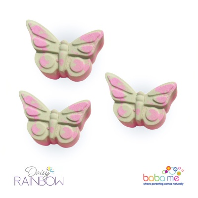 Daisy Rainbow Butterfly Bath Bomb