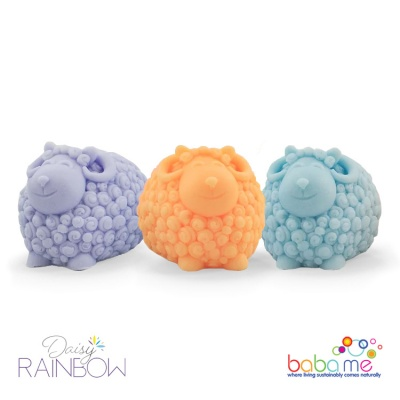 Daisy Rainbow Sheep Soap