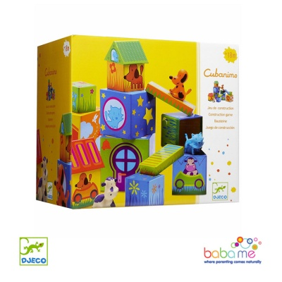 Djeco Cubanimo Blocks for infants