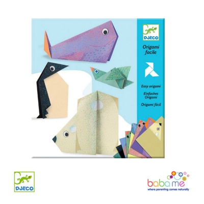 Djeco Easy Origami Polar Animals