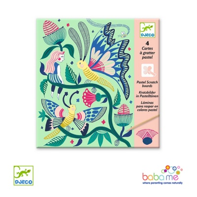 Djeco Fantasy Garden Scratch Cards