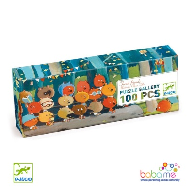 Djeco Forest Friends 100 Pieces Puzzles Gallery