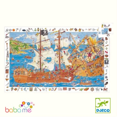 Djeco Pirates Observation Puzzle