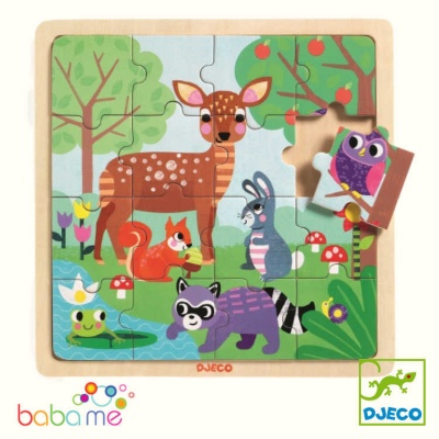 Djeco Puzzle Forest 16 Pieces