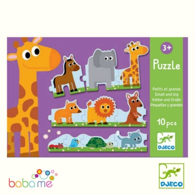 Djeco Small & Bigs Educational Games