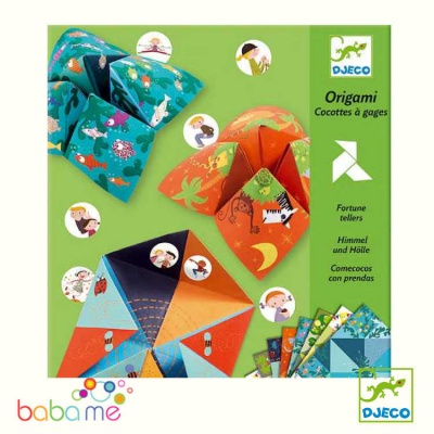 Djeco Small Gifts Origami Origami Bird Game