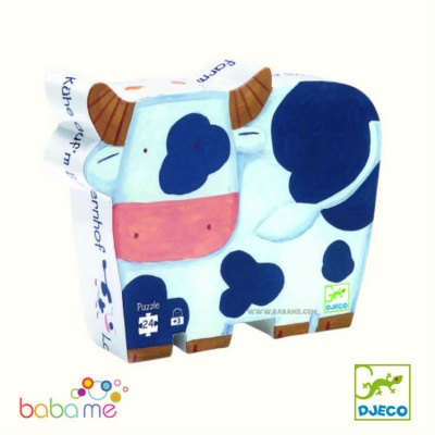 Djeco The cows on the farm - 24 pcs