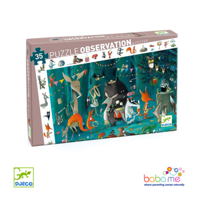 Djeco The Orchestra 35 Pieces Observation Puzzle