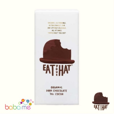 Eat Your Hat Organic 70% Dark Chocolate