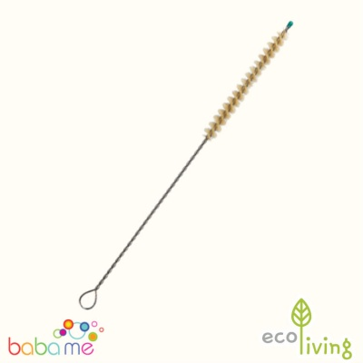 Eco Living Plastic-Free Reusable Straw Cleaner Plant Bristles