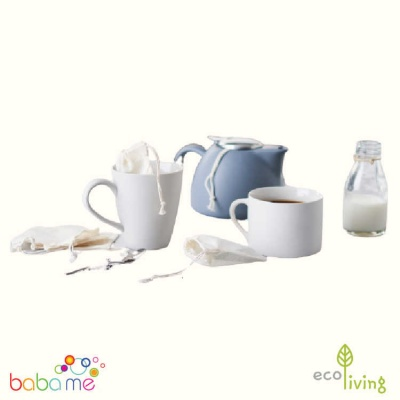Eco Living Reusable Organic Tea Bags