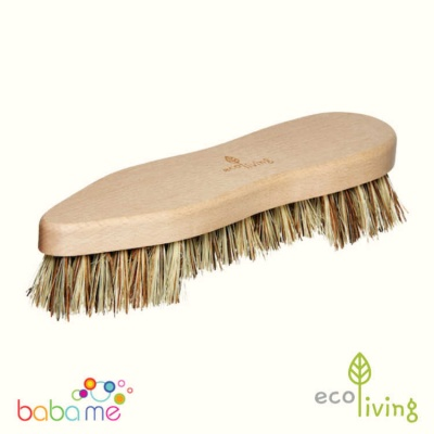 Eco Living Super Scrubbing Brush With Natural Bristles