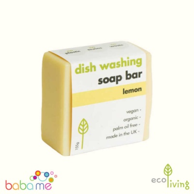 Eco Living Washing-Up Soap Bar - Lemon