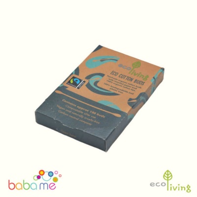 Eco Living Organic Fairtrade Cotton Buds