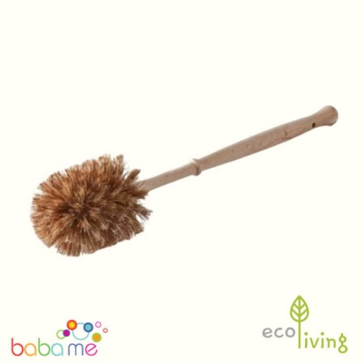 Eco Living Plastic Free Toilet Brush - Smaller Brush