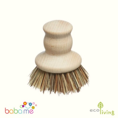 Eco Living Wooden Pot Brush