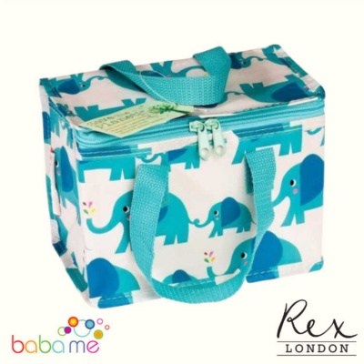 Elvis Elephant Insulated Lunch Cooler Bag