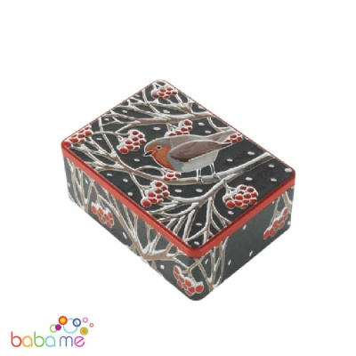 Robin Biscuit Tin Cranberry Biscuits