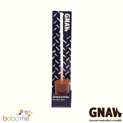 Gnaw Amaretto FLAVOURED Hot Choc milk shot 42g