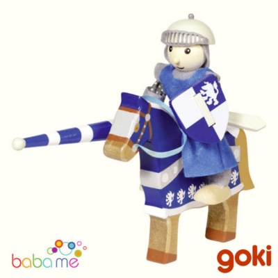 Goki Flexible Puppet Knight Lancelod With Horse