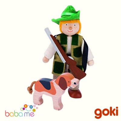 Goki Goki Flexible Puppet Hunter