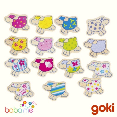 Goki Susibelle Sheep Memo Game
