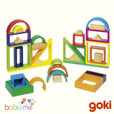 Goki Rainbow Building Blocks