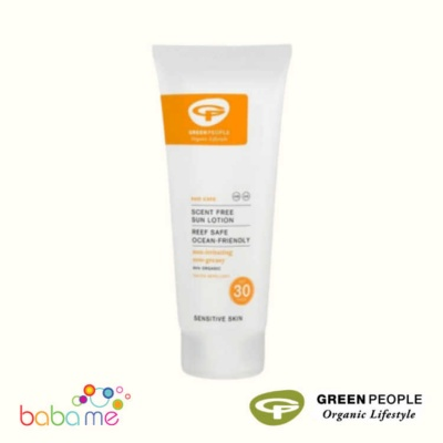 Green People Scent Free Sun Lotion
