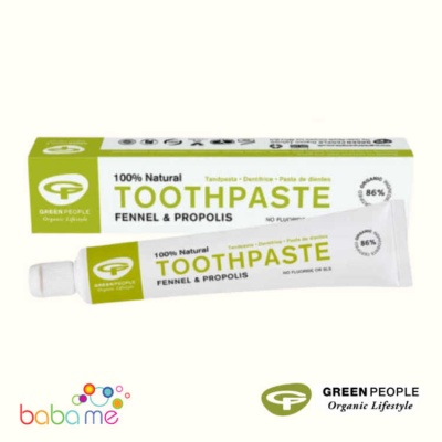 Green People Fennel And Propolis Natural Toothpaste