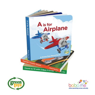 Green Toys Board Book 3 Packs