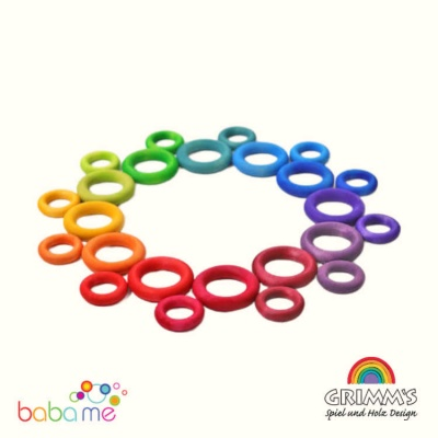 Grimms Building Rings Rainbow