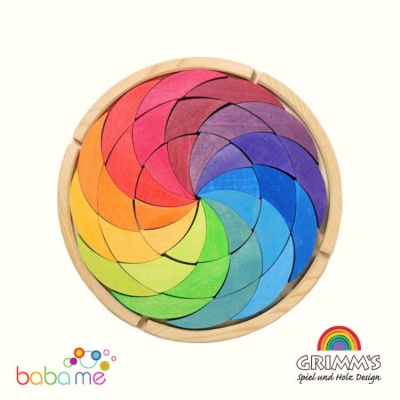 Grimm's Building Set Colour Wheel Rainbow