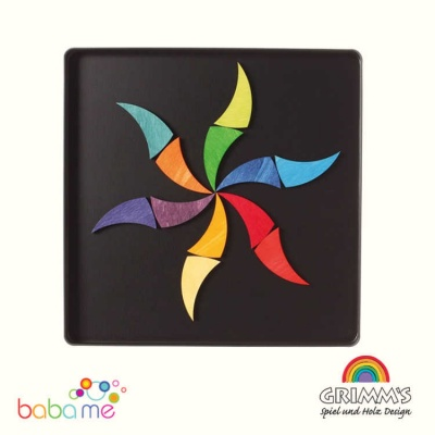 Grimms Magnet Puzzle Rainbow Wheel