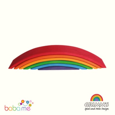 Grimms Rainbow Bridge, coloured