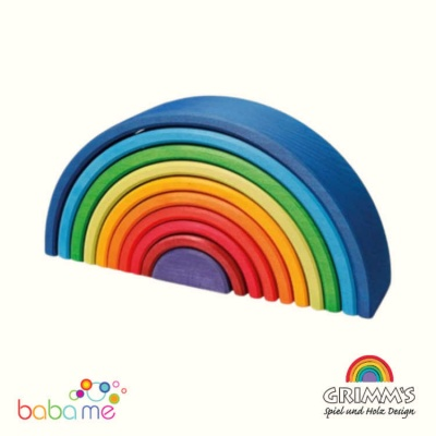 Grimms Sunset Rainbow 10 piece
