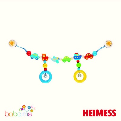 Heimess Pram chain vehicles with clips