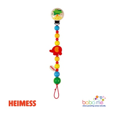 Heimess Soother chain elephant