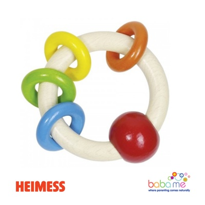 Heimess Touch ring 4 rings rainbow