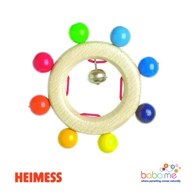 Heimess Touch ring rainbow pearls