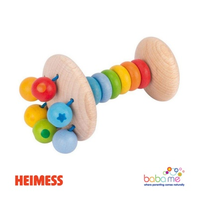 Heimess Touch ring rattle rainbow