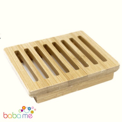 Hemu Wood Soap Dish - Box