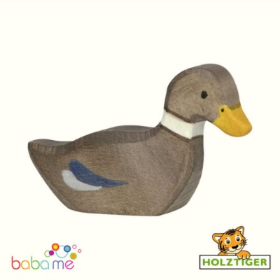 Holztiger Duck swimming 80024